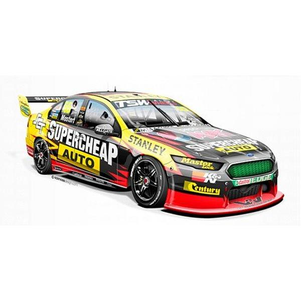 FORD FG X FALCON #55 CHAZ MOSTERT