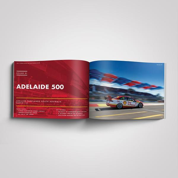 DJR SHELL V-POWER RACING 2018 BOOK